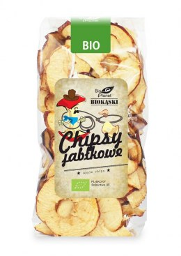 BIO PLANET Chipsy jabłkowe BIO 100g