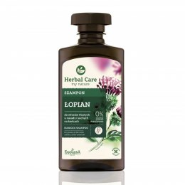 HERBAL CARE Szampon ŁOPIAN 330ml FARMONA