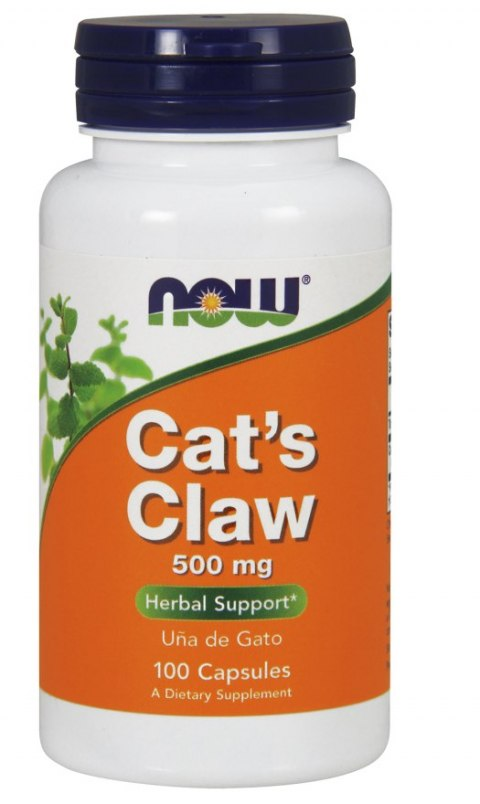 NOW FOODS Cat's Claw 500mg, 100vcaps.