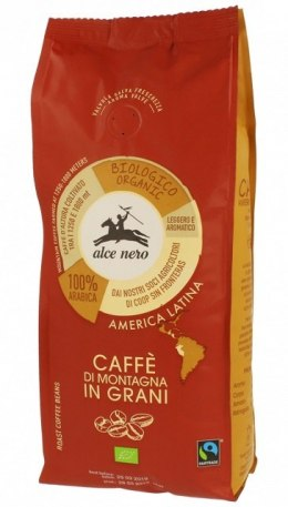 ALCE NERO Kawa 100% Arabica ziarnista FT BIO 500g