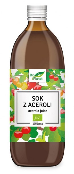 BIO PLANET Sok z Aceroli NFC 100% BIO 500ml