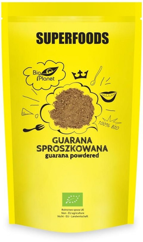 SUPERFOODS Guarana sproszkowana BIO 150g BIO PLANET